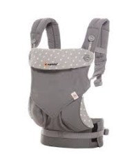 Ergobaby Four Position 360 Baby Carrier Natural- Dewy Grey