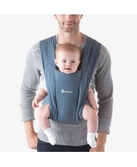 Ergobaby Embrace Cozy Newborn Carrier- Oxford Blue