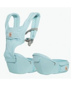 Ergobaby Hip Seat 6 position Carrier Natural - Island Blue