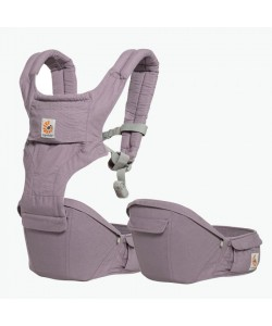 Ergobaby Hip Seat 6 position Carrier Natural - Mauve