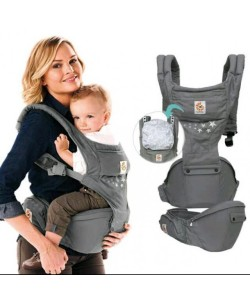Ergobaby Hip Seat 6 position Carrier Natural - Galexy Grey