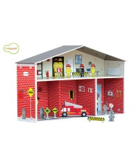 Krooom Pretend Play - Dylan Fire Station