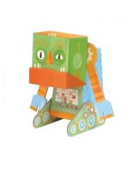 Krooom Fold My Robot - Grumpy Robot