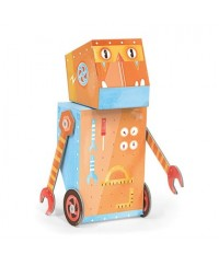 Krooom Fold My Robot - Builder Robot