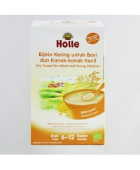 Holle Organic 3 Grain Baby Cereal (Rice, Corn and Millet) 250g