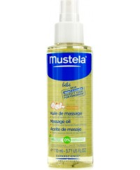 Mustela Baby Massage Oil 110ml