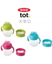 OXO Tot Grow Soft Spout Cup Set 6Oz - 3 colors