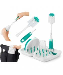 OXO Tot  on the go drying rack - Teal