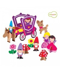 Krooom 3D Puzzle Playset - Orla & Friends Princess Set