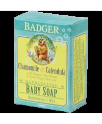 Badger Chamomile & Calendula Baby Soap