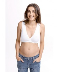 Fertile Mind Super Sleep Bra - White