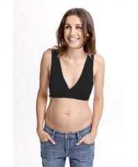 Fertile Mind Super Sleep Bra - Black