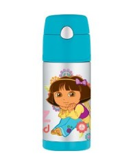 Thermos Dora Ice Cold Straw Bottle