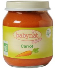 Babynat Organic Carrot Jar - from 4 months (130g)