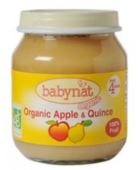 Babynat Organic Apple-Quince Jar - from 4 months (130g)