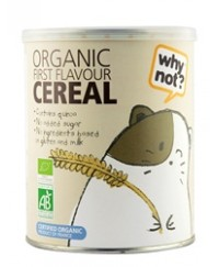 why not? Organic First Flavor Cereal - from 6 months (220g)