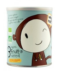 why not? Organic 3 Fruit Cereal 220g - from 6 months (220g)