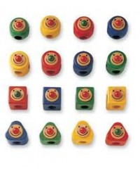 Pintoy: Geo Rattle (Pack 16pcs/BOX)