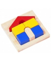 Blur Ribbon: Tray Puzzles: House Puzzle