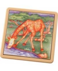 Voila Safari Jigsaw Giraffe