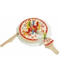 Voila Party Cake Wooden Toys