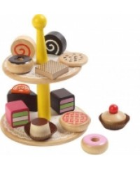 Voila Pastries Wooden Toy