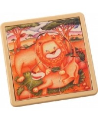 Voila Safari Jigsaw - Lion
