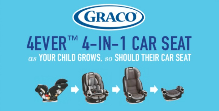 The Graco 4Ever Extend2Fit 4 In 1 Car Seat Gives You 10 Years With One Its Comfortable For Your Child And Convenient As It Transitions