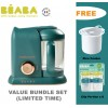 Beaba Babycook Solo 4-IN-1 Steamer & Blender-Jade Green (FREE RICE COOKER+ CLIP PORTION)