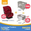 JOIE Every Stages (0-12Yrs) Car Seat + Free Kubbie - Cranberry (DEC OFFER)